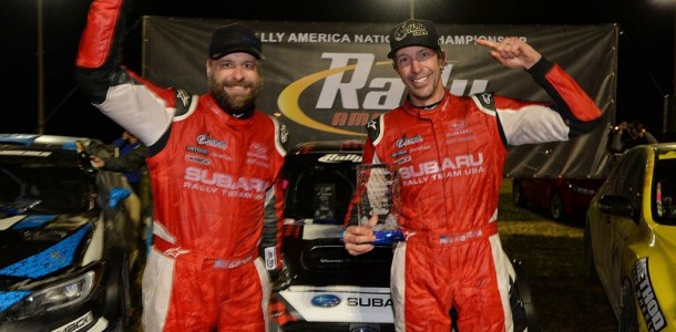 Pastrana / Edstrom Win Rally in the 100 Acre Wood