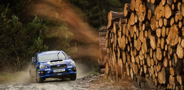 Higgins and Drew Prepare for Wales Rally GB