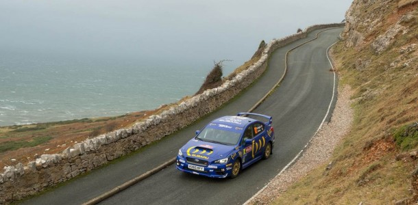 Subaru Dominates NR4 Class at Wales Rally GB